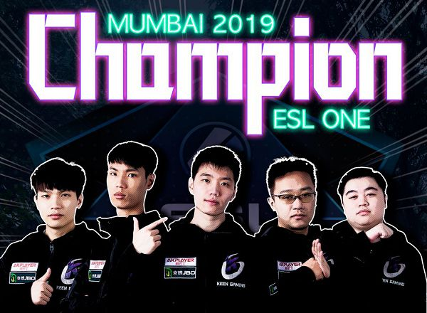 Keen Gaming выиграла ESL One Mumbai 2019